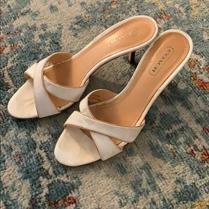 Coach Ciara strapless shoe